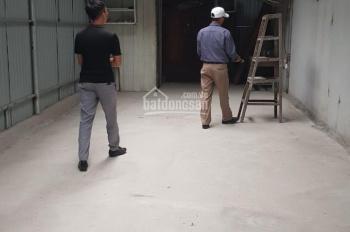 Cho thuê nhà làm kho xưởng Mậu Lương 50m2, có gác xép 4tr xe công đỗ cửa