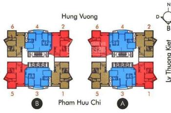 Căn hộ cao cấp Hùng Vương Plaza - 126 Hồng Bàng - P12 - Q5, DT 126m2, 3PN, 5,150 tỷ