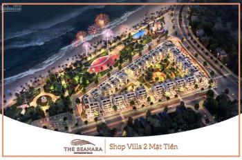 Cơ hội đầu tư siêu lợi nhuận The Seahara Phú Yên - Shop Villas 2 mặt tiền biển - 0972 309 188