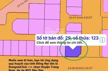 Chính chủ cần bán đất nền biệt thự 463m2 (3 mặt tiền) KĐT Bàu Xéo