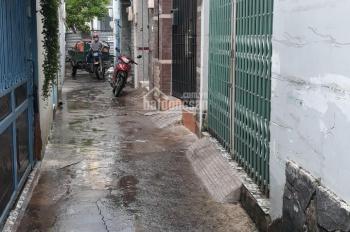 Nhà trệt gác hẻm đường Man Thiện, nền 65m2, 2PN, 1WC, chưa qua đầu tư