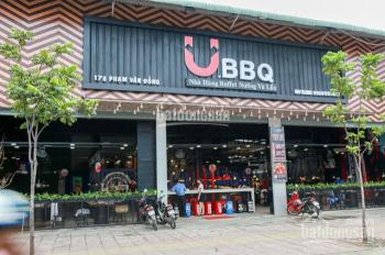 Hết hợp đồng nên cho thuê lại nhà MT Phạm Văn Đồng 40x50m, góc 3 MT KD tự do, 0901.341.220