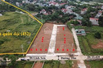 Khu đất phân lô đẹp nhất Bình Yên, cam kết xem đất là ưng vị trí, ưng giá bán ngay. LH 0943954098