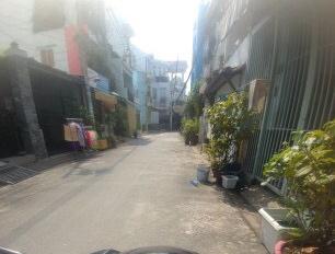 Bán nhà hẻm số 21, đường Lê Ngã, phường Phú Trung, quận Tân Phú