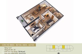 Bán căn hộ tầng 12 chung cư Tây Hồ River View, view sông Hồng, 30 tr/m2 - 0868601836