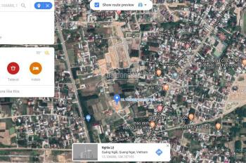 Bán lô đất thổ cư 100m2 nằm kề khu dân cư Yên Phú 2, phường Quảng Phú, Quảng Ngãi