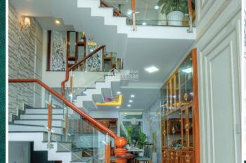 Bán nhà mặt tiền An Dương Vương, Bình Tân giá 6,9 tỷ, 3 lầu, sổ hồng riêng, mới xây. LH 0908982299