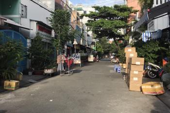 Bán căn góc 2 mặt tiền hẻm xe hơi phố ăn Nguyễn Nhữ Lãm, 4x12.6, nở hậu 4.2m, nhà cấp 4. Giá 5.8 tỷ