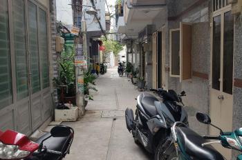 Bán nhà sổ hồng riêng 38m2, tiện xây mới, gần mặt tiền đường Hoài Thanh, P.14, Q.8
