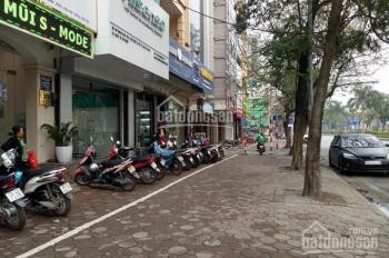 Bán nhà 5 tầng lô góc mặt đường Hoàng Quốc Việt, Cầu Giấy, 80m2