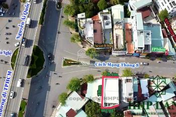 Cho thuê nhà mặt tiền hơn 9m ngay đường chính Cách Mạng Tháng Tám - 0916284557