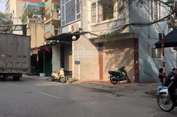 Bán nhà mặt phố Dương Văn Bé, Vĩnh Tuy, Hai Bà Trưng DT 40m2x6 tầng xây mới lô góc kinh doanh khủng