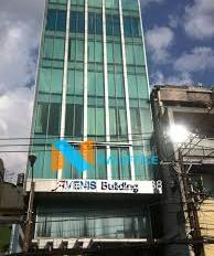 Tòa Building cho thuê ngang 8.2x25m 1 hầm 1 trệt 5 lầu (1000m2 sàn) khu vực sân bay với giá 130tr