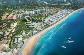 Suất nội bộ lô mặt biển dự án Hamubay, sở hữu 2 km mặt tiền biển, ngay trung tâm TP Phan Thiết