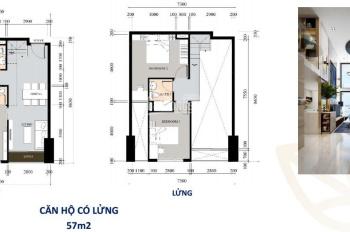 Bán gấp căn góc LA Cosmo B. 09, căn hộ có lửng H: Đông đón bình minh, nhìn trung tâm Q. 1