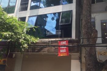 Cho thuê nhà phố Vân Hồ 3. Dt: 95m2 x 4 tầng, mặt tiền 7m, nhà mới, thông sàn, riêng biệt