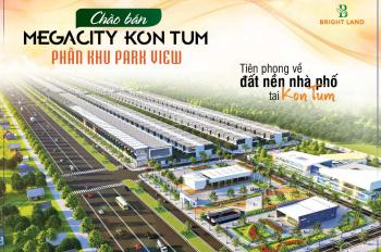Mở bán phân khu Park View dự án Mega City Kontum giá từ 399tr/170m2 sổ đỏ - 0966398609