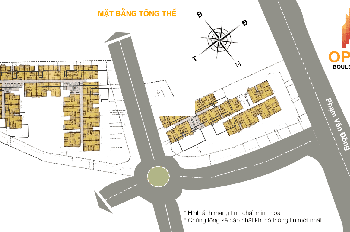 Nhượng căn hộ Opal Boulevard Đất Xanh, Phạm Văn Đồng  79.36m2/2PN giá bán 2,75 tỷ