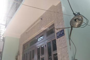 Bán nhà 1 trệt 1 lầu, SHR, chính chủ tại Hoài Thanh, Quận 8, tiếp giáp 2 mặt hẻm