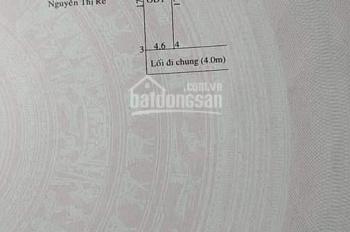 Cần bán đất Phú Hoà 2 khu phố 9 đường bê tông 4m DT 4,6x17m, thổ cư 100%