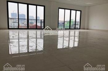 Cho thuê sàn văn phòng toà nhà mặt phố Dịch Vọng Hậu, DT 120m2, thông sàn. Giá 23tr/th, 0355438999