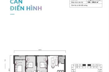 Bán căn góc 3PN 109,8m2 dự án Mipec Rubik 360 giá chỉ 4,043 tỷ