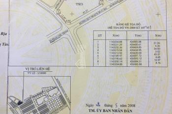 Cần bán gấp lô đất đường Phan Chu Trinh, 4 mặt tiền 1196m2, giá 36tr/1m2