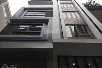 Bán nhà 34 Vĩnh Tuy, Hai Bà Trưng DT 40m2 x 6 tầng xây mới lô góc kinh doanh khủng, giá 6 tỷ