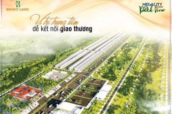 Chỉ 230 triệu - Sở hữu 170m2 đất khu đô thị Megacity Kontum - Phòng QLDA 0905009771