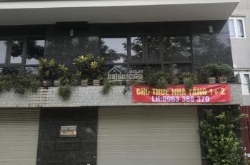 Cho thuê nhà tầng 1, 2, 3 mặt tiền kinh doanh tại đường Bờ Sông Sét, Hoàng Mai