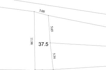 Bán đất Thạch Bàn 37.5 m2, ngay sát mặt đường tổ 15 giá cực mềm 42.5 tr/m2