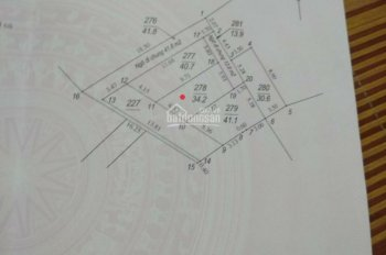 Bán đất Thạch Bàn 34.2 m2 tổ 12, giá rẻ nhất làng, 1,1 tỷ