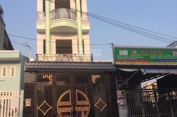 Nhà 1 trệt 3 lầu, đường Số 2, phường Tăng Nhơn Phú B, Q9