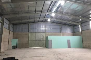 Cho thuê 2 xưởng huyện Củ Chi 1600m2 và 3.000m2 giá tốt