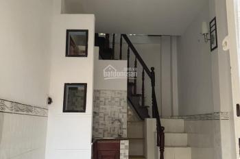 Nhà sổ hồng riêng, 1 trệt 1 lầu, hẻm 5m thông, giá 1.45 tỷ, hẻm 411 Lê Đức Thọ, phường 17