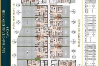 Chung cư La Fortuna vị trí vàng trung tâm Thành phố Vĩnh Yên chỉ từ 500 triệu đồng, 0971789246