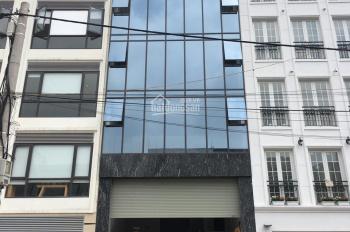 Cho thuê nhà phố Trần Quốc Hoàn, Cầu Giấy, DT 55m2, 7 tầng, MT 5m, thông sàn, thang máy, giá 38tr