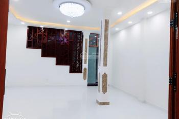 Cho thuê MT đường A4 P12, Tân Bình. Nhà mới 100%, DT 6x19m nở hậu 3 tầng, thích hợp làm VP công ty