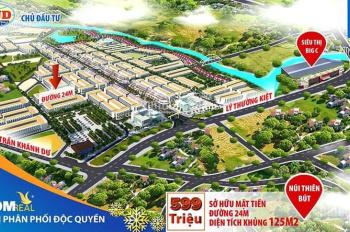 Một lô duy nhất tại Khu đô thị Phú Mỹ, giá chỉ 1, x tỷ có móng sẵn hướng nam.