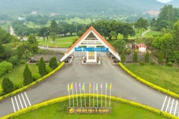 Bán đất biệt thự nằm trong sân golf Tam Đảo Vĩnh Phúc 100% view đẹp, LH 0842883666