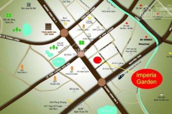 Cần bán lô sàn văn phòng 130m2 tại dự án Imperia Garden 203 Nguyễn Huy Tưởng, ký HĐMB trực tiếp CĐT