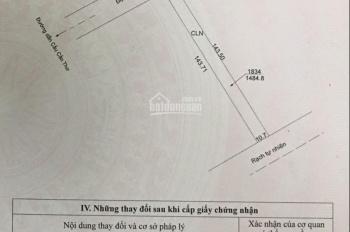 Bán đất mặt tiền đường Trương Vĩnh Nguyên, hướng Tây Bắc, xây biệt thự bao đẹp, zalo 070 5678 797