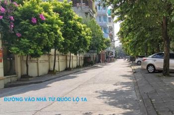 Bán nhà khu TT quân đội K212 - Liên Ninh, Thanh Trì, Hà Nội, DT 31.1 m2, giá 1.1 tỷ