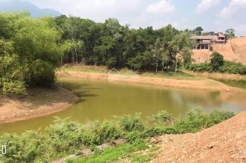 Bán đất 1700m2 view hồ Khoáng Bưởi, Cư Yên, Lương Sơn, Hòa Bình. Đường 7m - bám hồ 50m