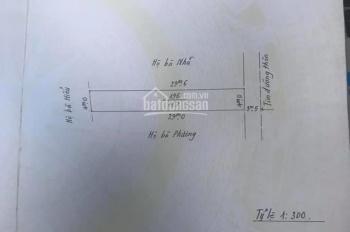 Bán lô đất thổ cư trên đường trục chính Quỳnh Hoàng, Nam Sơn, An Dương, Hải Phòng - LH: 0398506693
