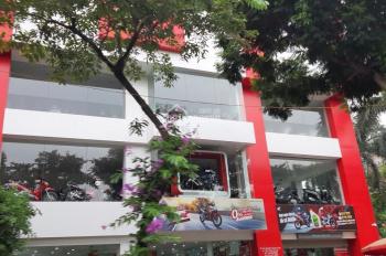 Cho thuê nhà đường Nguyễn Khánh Toàn làm VP, spa, 100m2 x 6 tầng, thông sàn, có thang máy, 70 tr/th