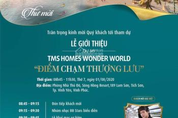 Hot! Hot ! Lễ giới thiệu dự án TMS Homes Wonder World 01/08/2020, 0987497183