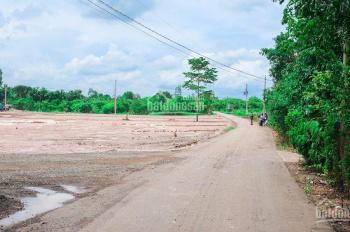 100 % đất mặt tiền đường nhựa Cây Gáo hỗ trợ xây nhà ưu tiên công nhân có thu nhập thấp