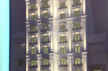 Cho thuê toà nhà khách sạn tại KĐT mới Mễ Trì, DT 280m2 * 9 tầng, MT 20m, 60P khép kín giá 200tr