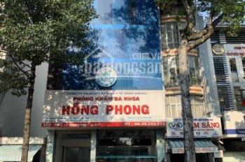 Bán tòa nhà 160 - 162 Lê Hồng Phong, Q5, DT: 9 x 21m, hầm, 7 lầu, ST, 120 tỷ